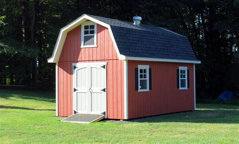 Barn Style tall gambrel barn style sheds