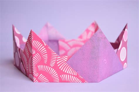 crown origami origami crowns easy paper craft for what can we do