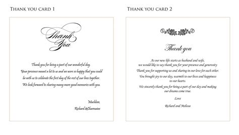 how to make wedding thank you cards wording for wedding thank you cards lilbibby