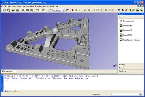 free cad program freecad open source 3d cad software dr windows