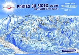 morzine and avoriaz ski map consult pist maps of portes du soleil and les gets ski area