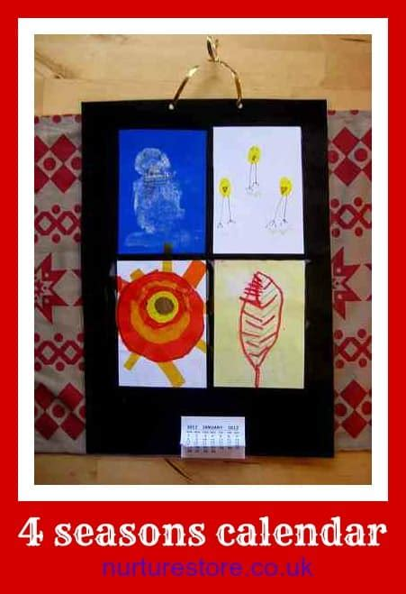 calendar craft for resolutions and fireworks new years for