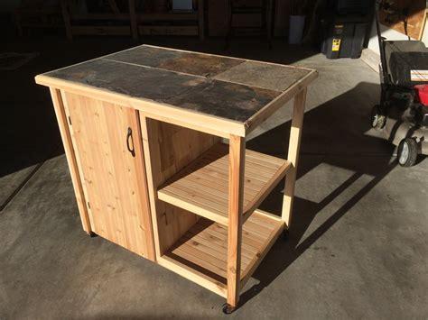 woodworking cart bbq cart by wyo7200 lumberjocks woodworking