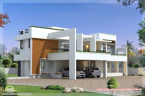 contemporary home design plans sq modern contemporary villa square bedroom