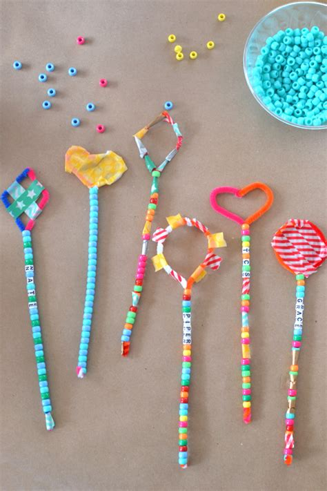 crafts for with pipe cleaners pipe cleaner wands at the craft fair wand pipes and