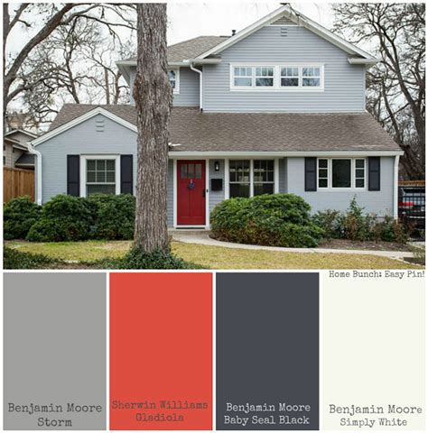 paint colors for exterior of house sherwin williams whole house paint color ideas home bunch interior design