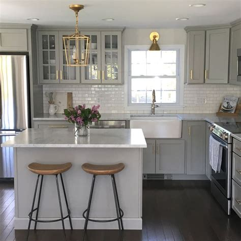 best gray for kitchen cabinets 25 best ideas about gray kitchen cabinets on