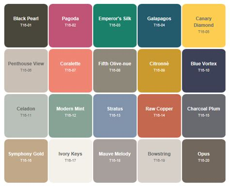 behr colors of paint behr paint trends for 2016 favorite paint colors