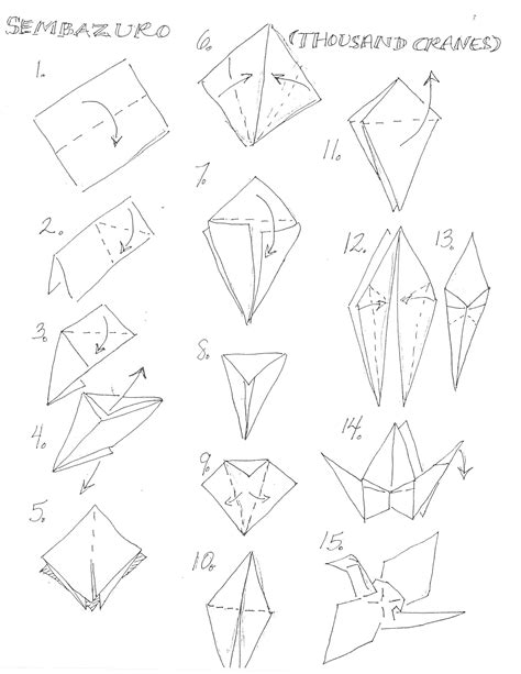 origami blueprints lesson plan for origami crane comot