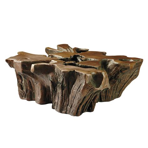 root coffee table the green