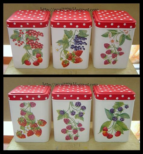 decoupage on plastic containers plastic container my decoupage
