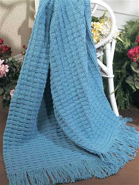 pattern for knitted afghan free free textured afghan knitting patterns textured cotton