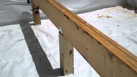 how to frame a floor floor framing mp4