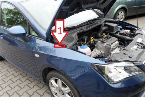 Where Is Vin by Seat Ibiza 2012 2014 Vin Location Where Is Vin