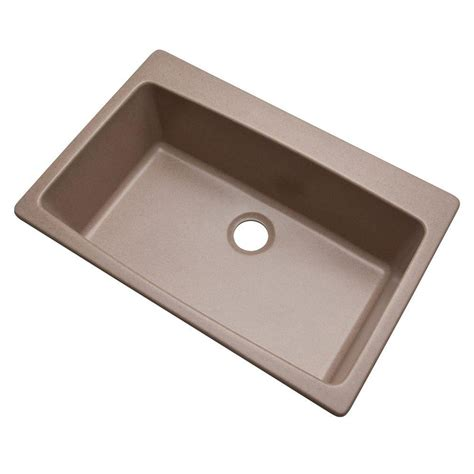 single basin kitchen sinks blanco dual mount granite 33 in 1 single