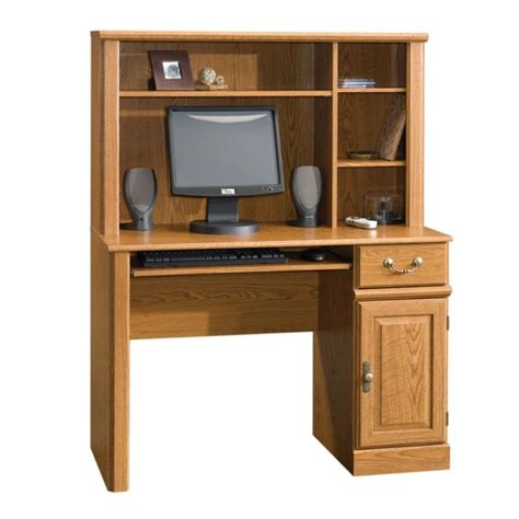 computer desk with hutch sauder orchard computer desk with hutch 401353