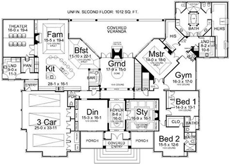 1 story luxury house plans best 25 2 story homes ideas on house plans 2