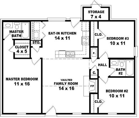 3 bedroom 3 bath house plans 653624 affordable 3 bedroom 2 bath house plan design house plans floor plans