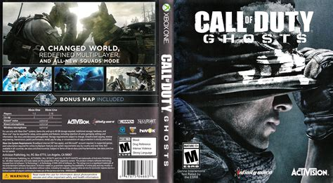 one covers call of duty ghosts 2013 ntsc