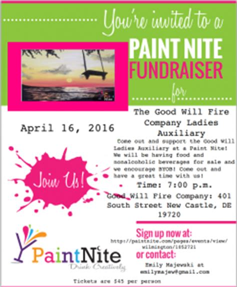 paint nite delaware events city of new castle new castle county delaware