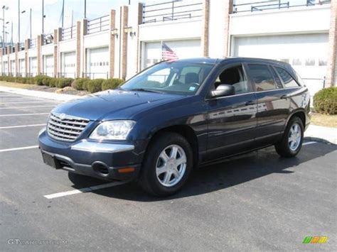 Blue Chrysler Pacifica by 2005 Midnight Blue Pearl Chrysler Pacifica Touring