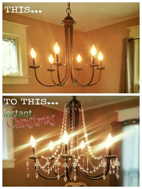 add crystals to chandelier chandelier 2013 add bead garland and