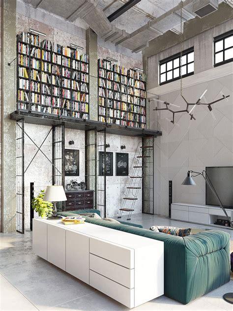 loft industrial arredamento stile industriale per loft 30 idee dal design