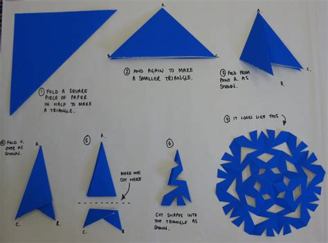 how to make origami snowflake how to make a paper snowflake schoolofeverything flickr