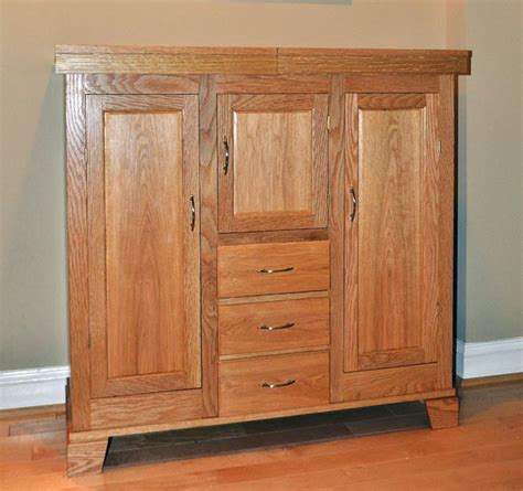 woodworking plans liquor cabinet liquor cabinet in white oak finewoodworking