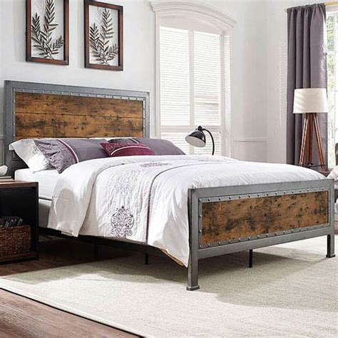 industrial bedroom furniture industrial bedroom furniture bellacor