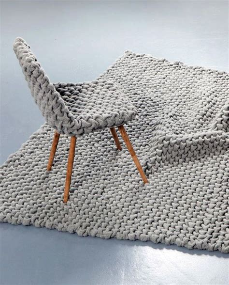 chunky knit rug best 25 knit rug ideas on knitted rug rag