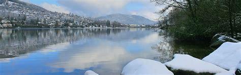 h 244 tel g 233 rardmer les reflets du lac hiver 224 g 233 rardmer