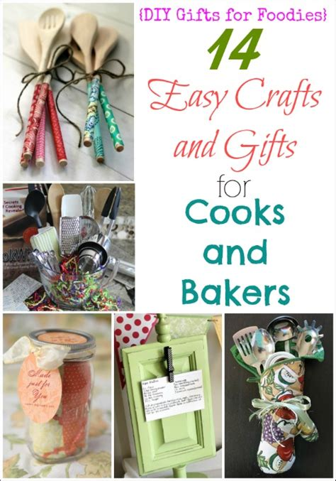 easy craft gifts for 14 easy crafts and gifts for cooks and bakers diy gifts