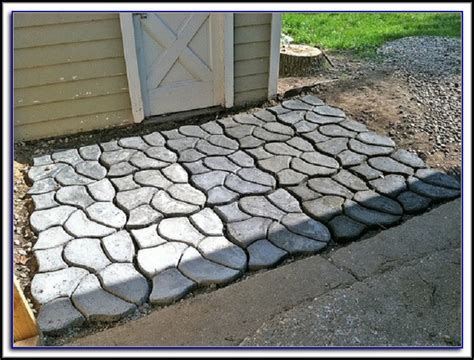 patio paver molds concrete walkway molds canada patios home decorating