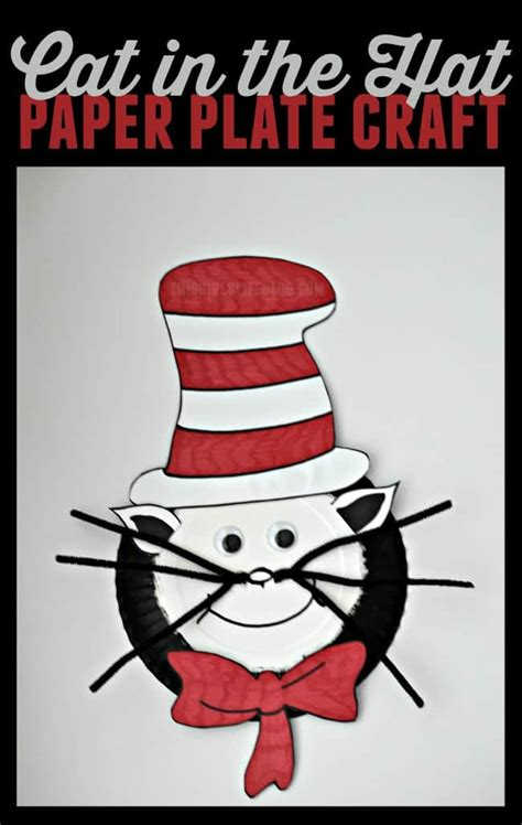 cat in the hat crafts for cat in the hat paper plate craft this s