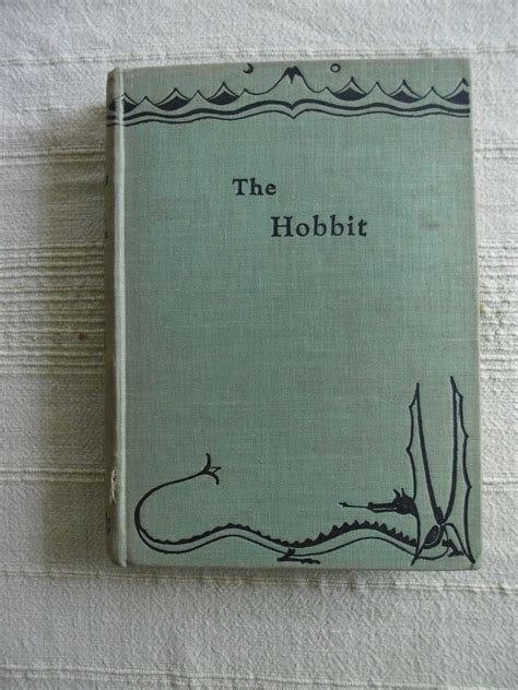 original book with pictures the hobbit by j r r tolkien original collectable copies