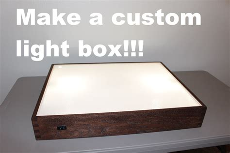 drafting table with lightbox how to build a light box