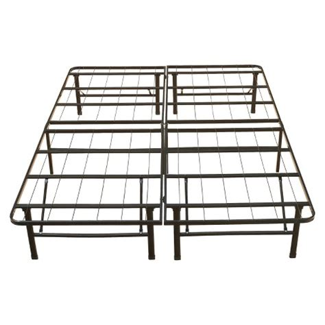 eco metal platform base bed frame 14 quot target