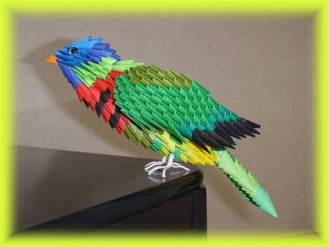 how to make 3d origami bird 3d scanner image 3d origami