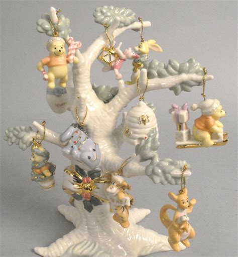 lenox tree ornament lenox ornament tree winnie the pooh the hundred acre wood
