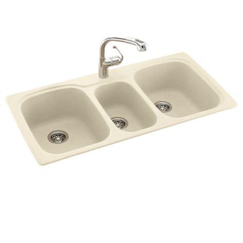 3 bowl kitchen sinks blanco undermount granite 24 in 0 single