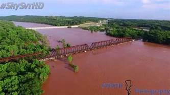 read river river bridge i 35 june flood 2015
