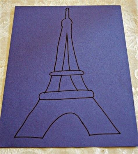 eiffel tower crafts for 1000 ideas about eiffel tower craft on