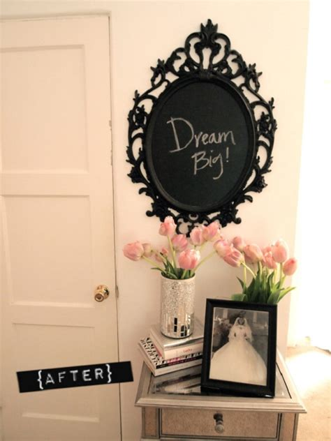 diy chalk paint picture frame diy chalkboard paint ideas for home