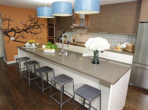 how to build a kitchen island bar kitchen island bars hgtv