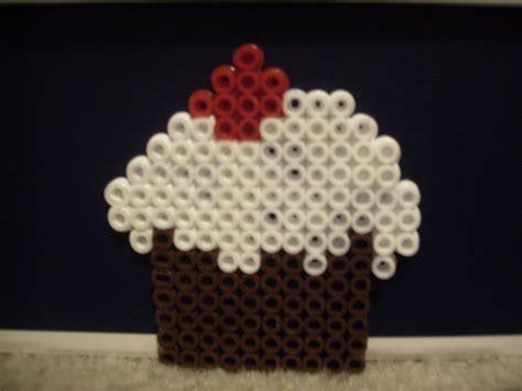 perler cupcake perler bead cupcake 3 all things cupcake