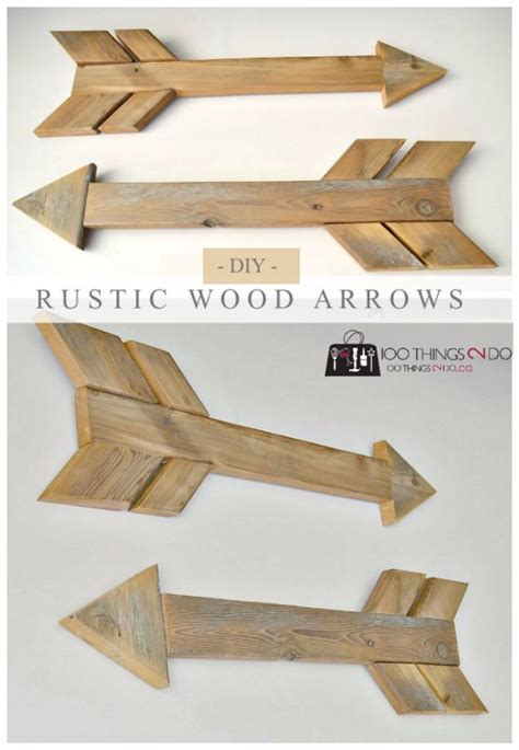 wood craft projects for adults 50 easy crafts to make and sell wood arrow