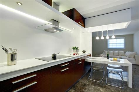 white and brown kitchen designs modern kitchen with brown color d s furniture