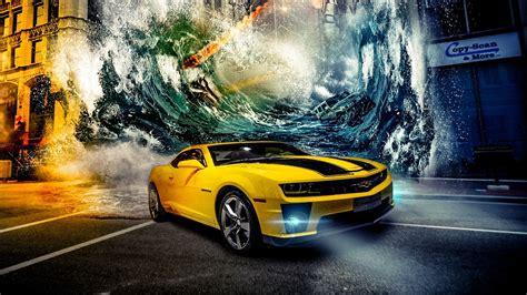 Yellow Car Wallpaper Hd by Yellow Car Wallpaper Hd Cars Wall Papers