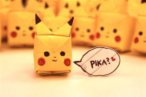 how to make pikachu origami paper origami pikachu images images